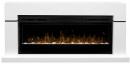 Готовый комплект Dimplex Lindos белый с очагом Prism 50