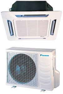 Кассетная сплит-система Daikin FFQN35CXV/ RYN35CXV