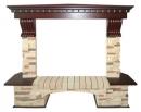 Портал Royal Flame Pierre Luxe сланец угловой для электрокаминов в Самаре
